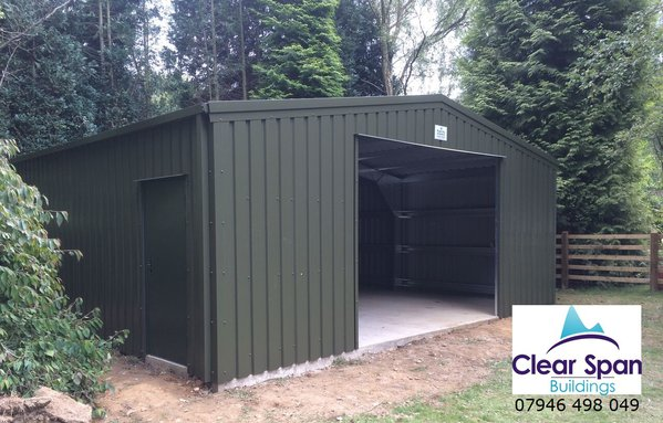 New 10m x 10m x 3m Eave Industrial Building