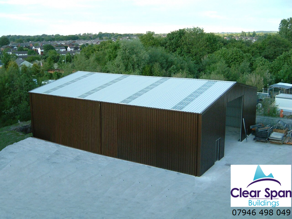 New Industrial Building 15m x 15m x 4m eave