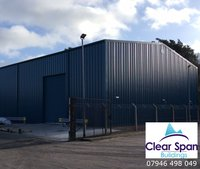 New 20m x 20m x 5m Eave Industrial Building