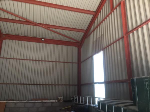 9.2m x 14m x 4.5m Eave Industrial Building