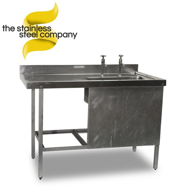 1.2m Stainless Steel Sink (Ref:SS34)
