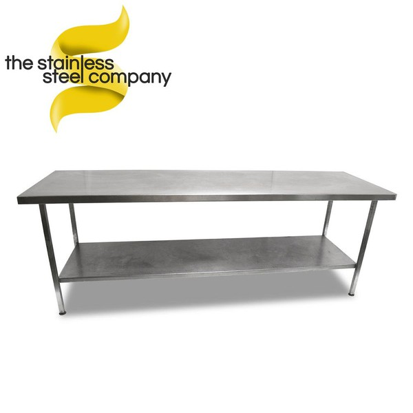 2.4m Stainless Steel Bench (Ref:SS127)