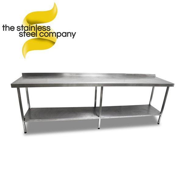 2.7m Stainless Steel Bench (Ref:SS128)