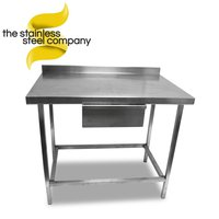 1m Stainless Steel Bench (Ref:SS166)