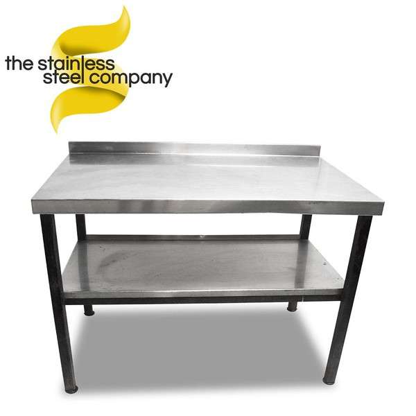 1.2m Stainless Steel Bench (Ref:SS164)