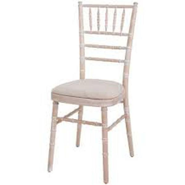 Ivory Chivari Seat Pads