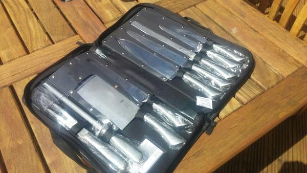 Premium 9 Piece Chef's Knife Set