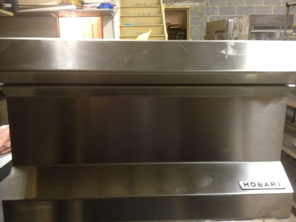 2x Hobart Stainless Steel Infill Piece with Drawers - Walthamstow, London 2