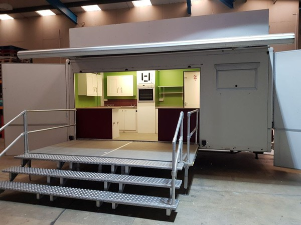Awesome 5.5m Lynton Built Show Trailer