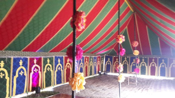 Traditional Moroccan Party Tent