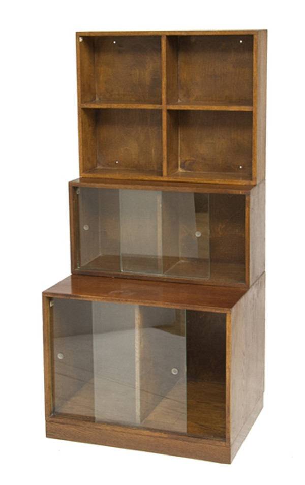 Art Deco Stacking Modular Bookcase