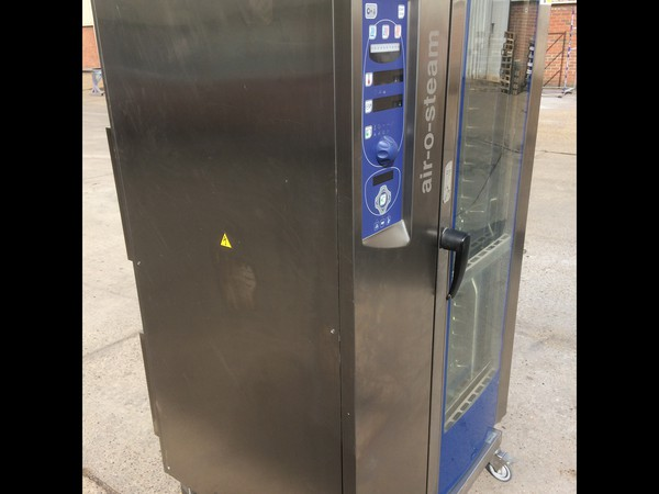 3 Phase Electrolux Air O Steam 20 Grid Combi Oven