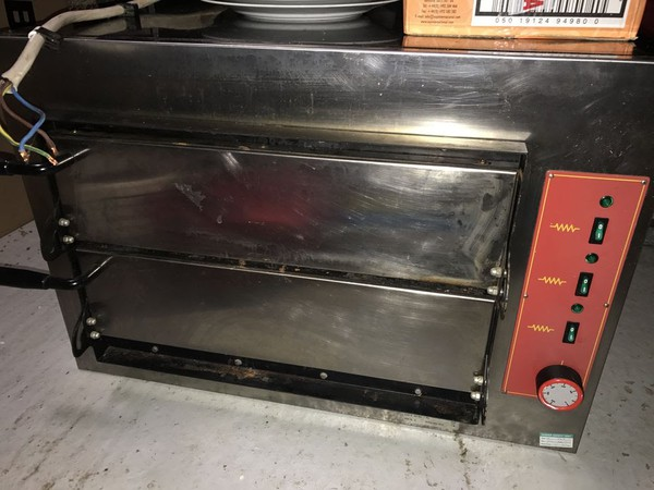 Electric Pizza Oven 2 Tier