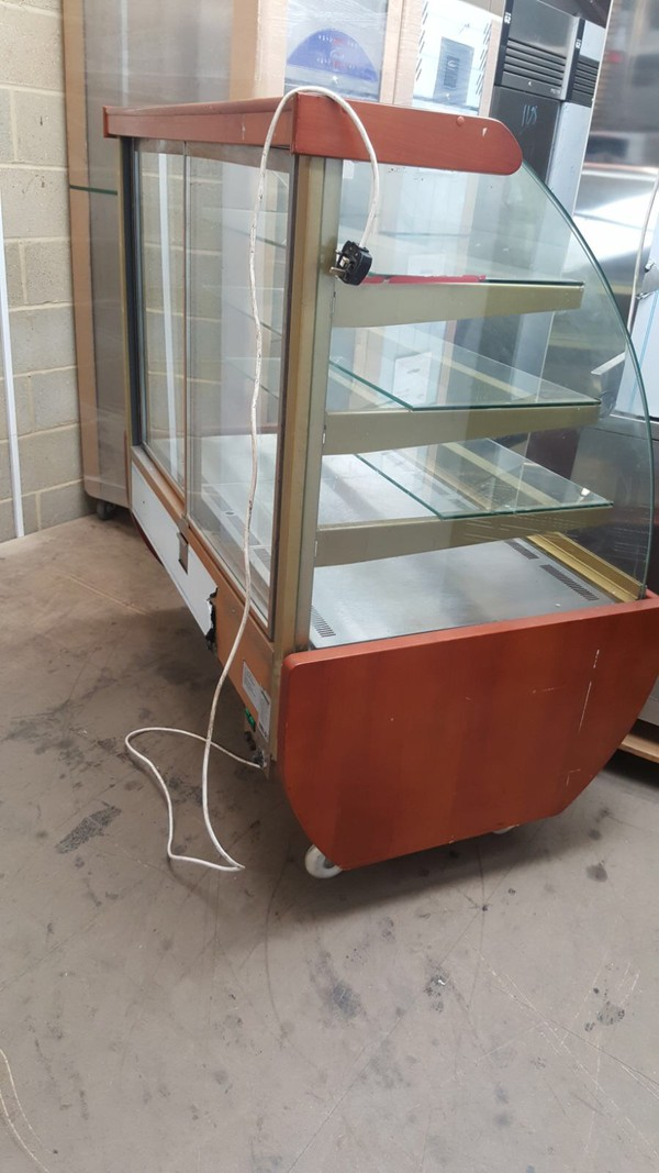 Hot Display Curved Glass