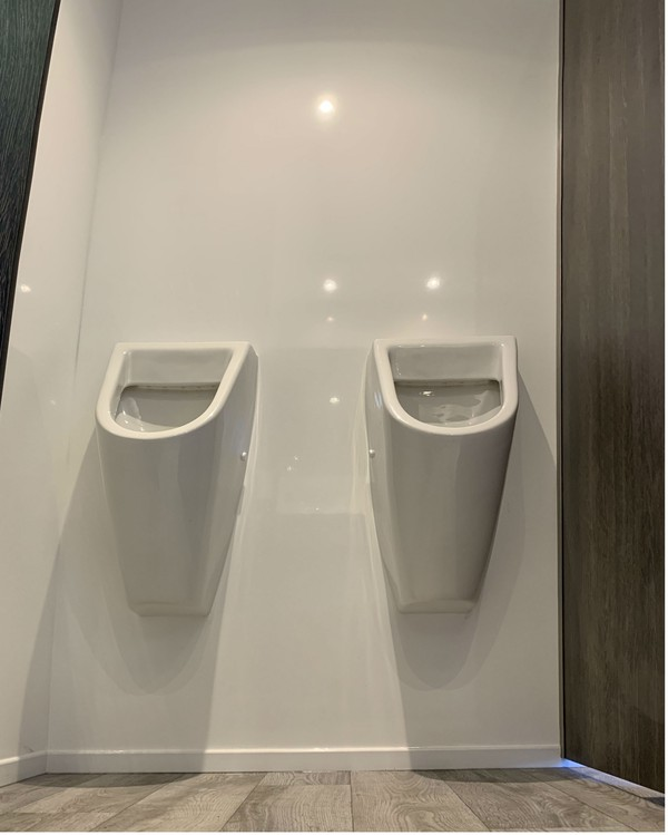 Gents urinals 2 + 1 trailer for sale
