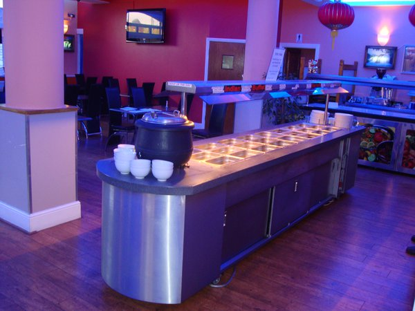 Hot And Cold Buffet Unit
