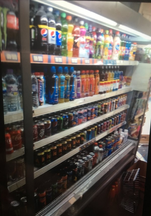Valera Fridge Food and Drink Display Unit