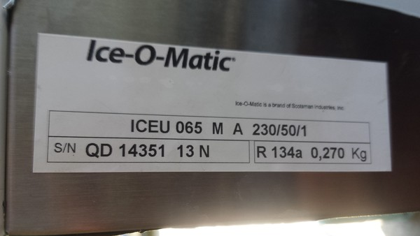 Ice-O-Matic Self-Contained Ice Cube Maker