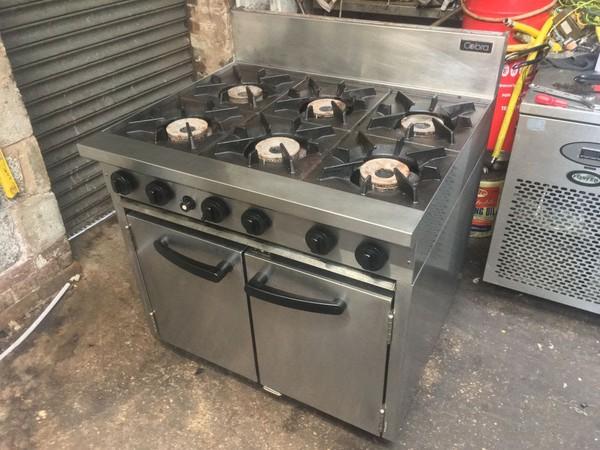 Blue Seal Cobra 6 Burner Oven Range