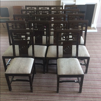 18 x Used Dining Restaurant High Back Chairs