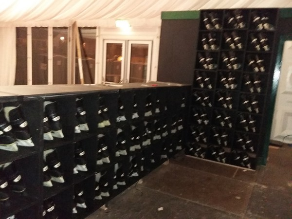 Ice Skating Boot Hire Storage