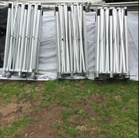 Three 6m x 3m Gala Pro 50 Gazebo Marquee Frames