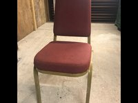 180 x Burgundy Conference Chairs