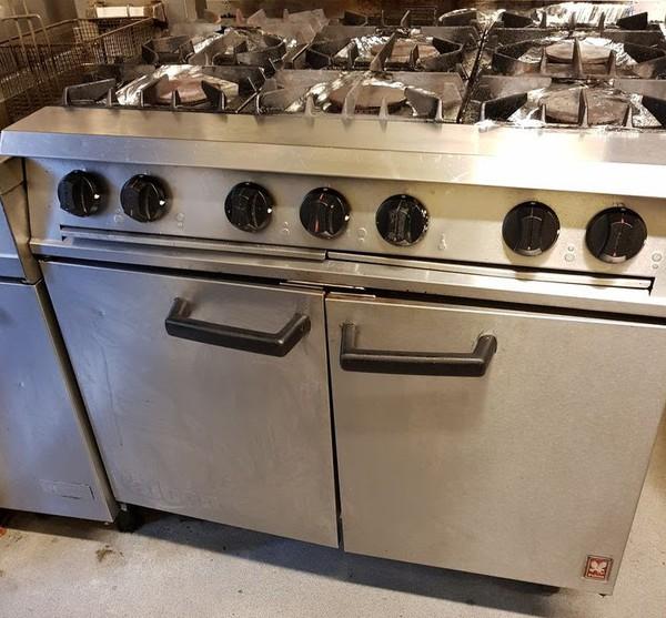Falcon 6 Burner Oven