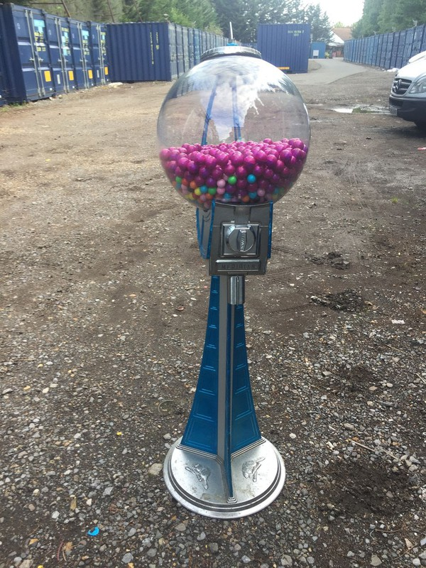 Rare 50's Space Themed Gob Stopper / Sweet Machine