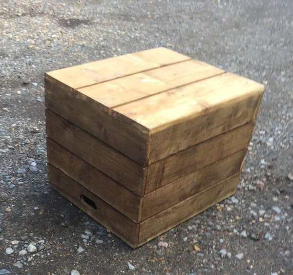 Apple Crate Seating / Boxes