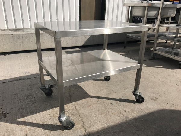 Stainless Steel Table/Stand (5462)