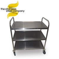 0.85m Stainless Steel Trolley (SS199)