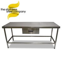 1.83m Stainless Steel Table (SS205)