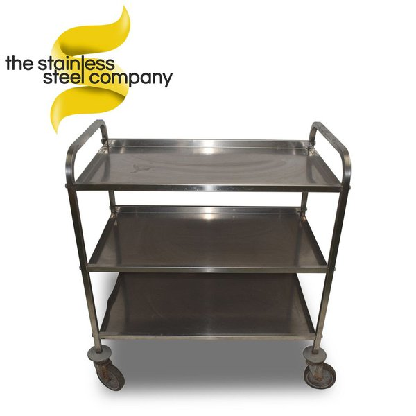 0.85m Stainless Steel Trolley (SS209)