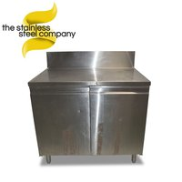 1.1m Stainless Steel Cupboard (SS215)
