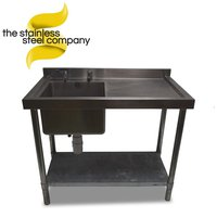 1m Stainless Steel Sink (SS216)