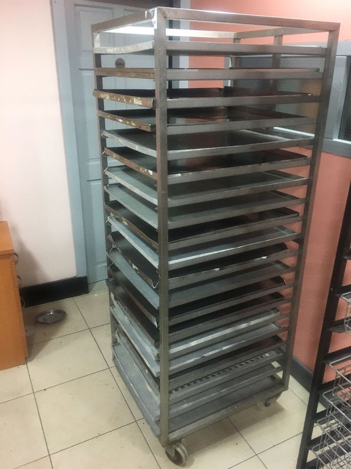 Secondhand Catering Equipment Racks Trolleys And Food