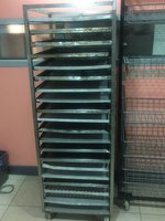 Bakery Trolley/Cooling Racks Comes With And Holds 20 Trays. On Wheels