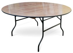"New 5ft6"" (168cm) Round Wooden Banqueting Tables"