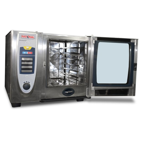 Rational SCC 61 Electric 6 Grid Combi Oven Self Cooking Centre