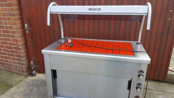 Carvery/Hot Cupboard Heated Gantry/Servery