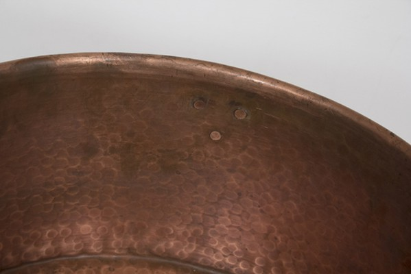Copper Champagne Drinks Cauldron & Stand