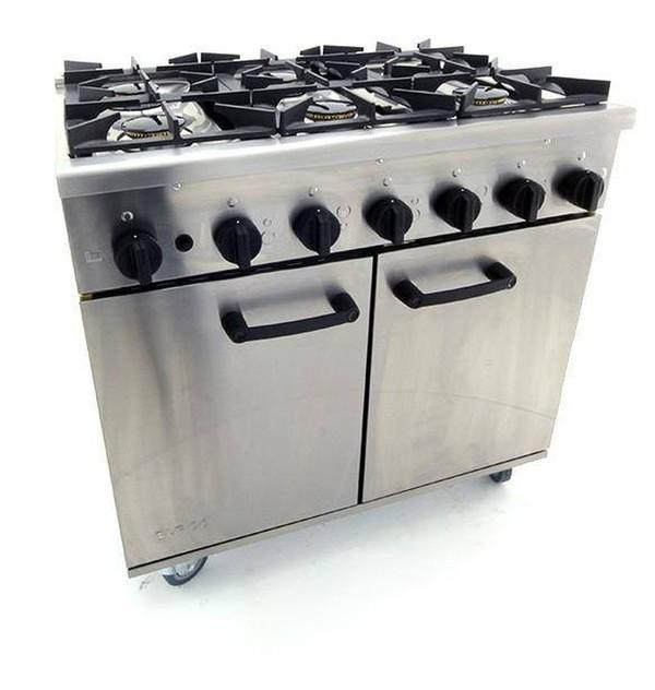 Burco Titan 6 Burner Oven Brand New