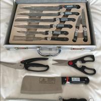 Solingen 'Pearl of Kitchen' Knife & Preparation Set in Aluminium Carry Case