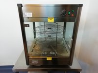 Lincat Upright Heated Merchandiser With Rotating Rack
