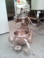 Metcalfe SP100 mixer, with safety guards ,whisk, paddle and dough hook