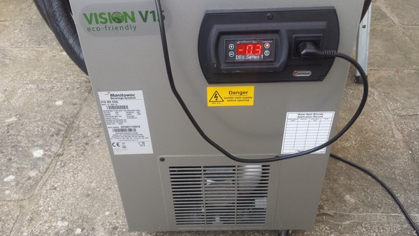 Cask Ale Cooler - PTC Chiller - Manitowoc Vision 15 - As New - Tried And Tested. Craft Beer, Tap room, Keg Chiller. Digital Control
