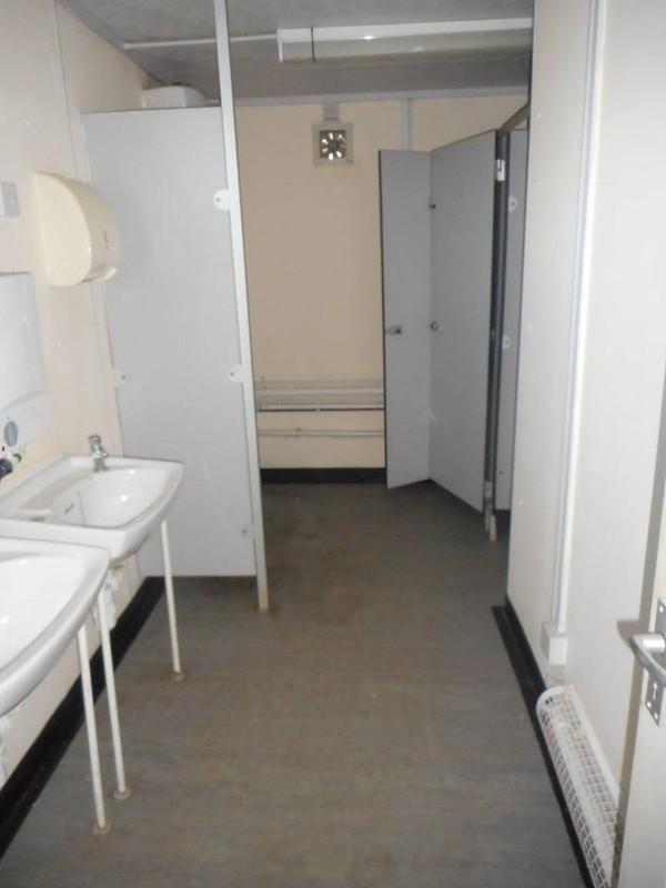 32' x 10' Anti Vandal Heart Unit 3 + 1 Toilet Office Portable Building