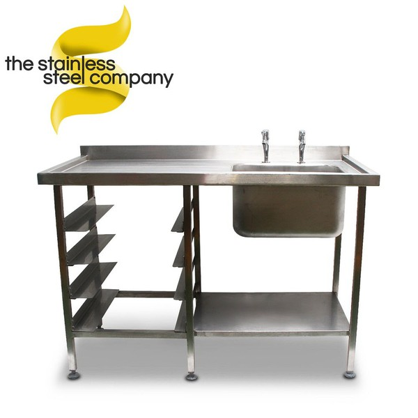 1.4m Stainless Steel Sink (SS22)