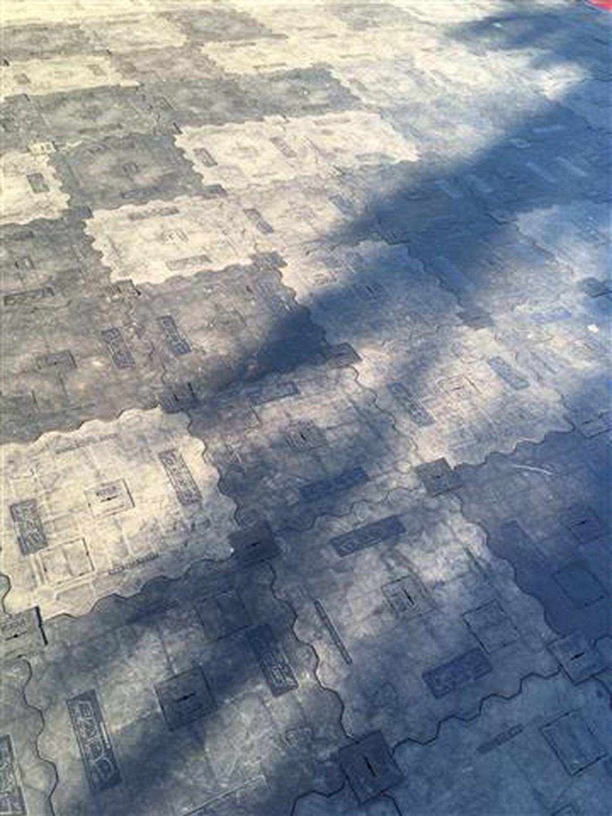 Curlew Secondhand Marquees Plastic Flooring 45m2 Expo Floors
